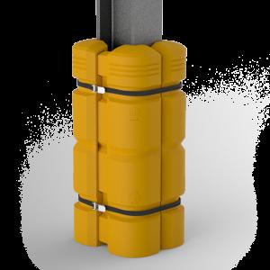 aanrijdbeveiliging-nederland-kolombeschermer-hoog-kunststof-geel-nr.4005S