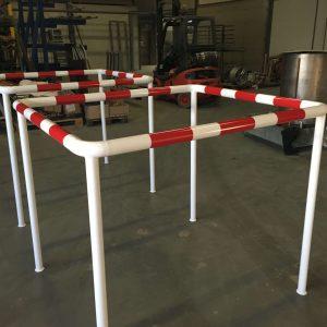 aanrijdbeveiliging-nederland-hekwerk-beschermhek-thermisch-verzinkt-staal