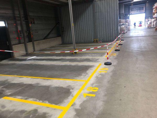 aanrijdbeveiliging-nederland-belijning-magazijnbelijning-routing